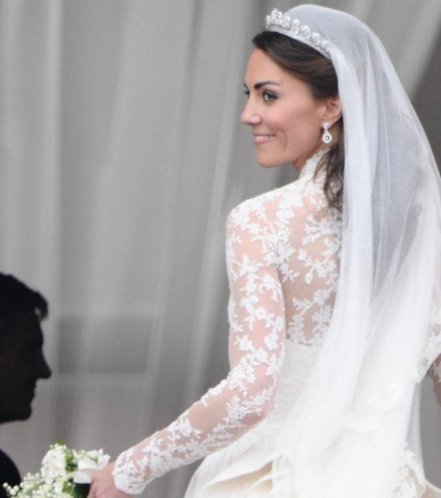 Couleur robe mariee kate middleton